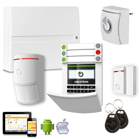 Jablotron JK-103KRY BASIC: GSM + LAN wireless Starter Kit