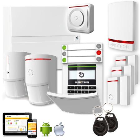 Jablotron JK-103KRY PLUS, GSM+LAN wireless Alarm Kit