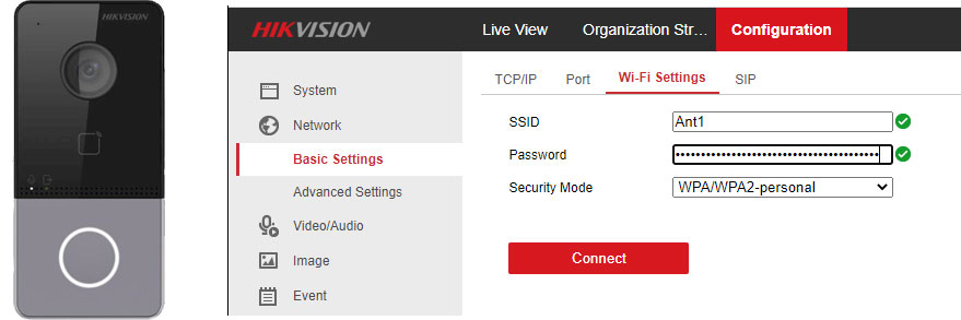 Use the Hikvision DS-KV6113-WPE1 'Stand-Alone'