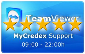 MyCredex support service