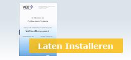 Alarmsysteem met opleveringsbewijs