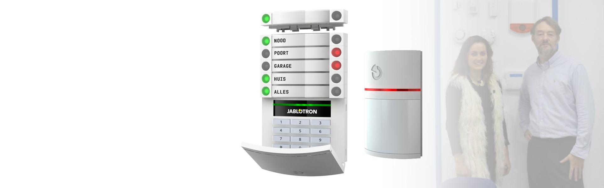 Jablotron alarmsysteem